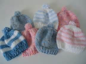 Newborn Baby Hat Knitting Pattern Free