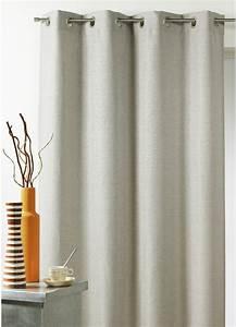 Double Rideaux Ikea : rideau en toile effet lin isolant phonique thermique lin homemaison vente en ligne rideaux ~ Teatrodelosmanantiales.com Idées de Décoration