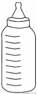 Bottle Baby Coloring Milk Pages Bottles Printable Template Sketch Babies Pregnancy Others Templates Coloringpages101 Pdf Paintingvalley sketch template