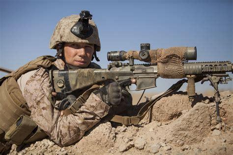 U.s. Marine Corps Cpl. Gaven Eier, A Scout Sniper