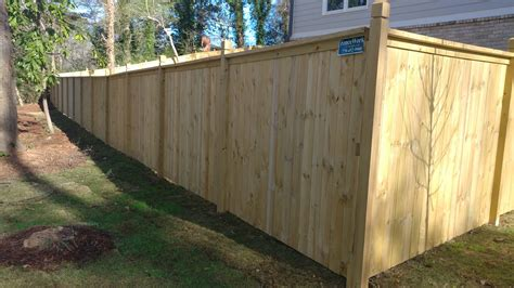 pictures of privacy fences atlanta wood privacy fences