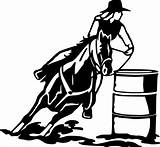 Barrel Racing Horse Clip Racer Clipart Coloring Silhouette Transparent Male Library Svg Racers Artwork Animals Arts Popular sketch template