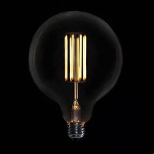 Ampoule Led à Filament : ampoule led filament droit globe ampoule led vintage ~ Dailycaller-alerts.com Idées de Décoration