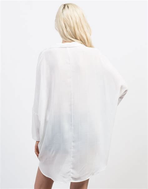 white button up blouse button up boyfriend blouse white oversized button up top