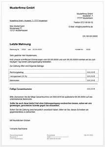Rechnung Zahlungsfrist : mahnung schreiben kostenlose mahnungsvorlagen f r word und excel 1 1 ~ Themetempest.com Abrechnung