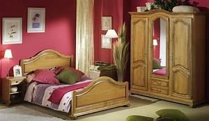 Chambre Coucher Rustique Et Classique En Chne Lubron
