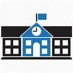 Icon College Building University Education Icons Transparent