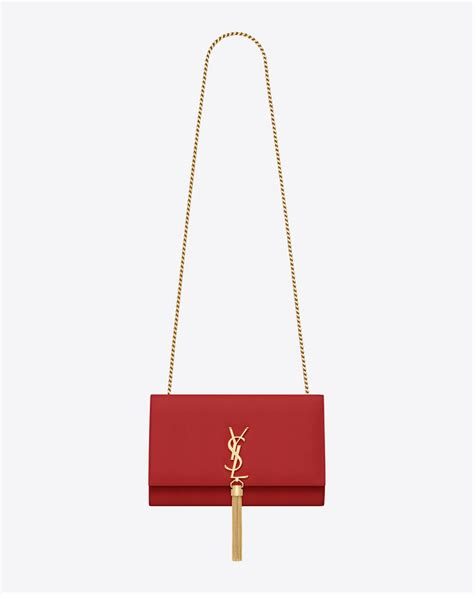 saint laurent classic medium monogram saint laurent tassel