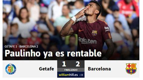 [Download] Getafe 1 X 2 Barcelona 16 09 2017 - MP3 Song, Music Free!