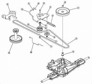 John Deere Hydro 185 Drive Belt Diagram