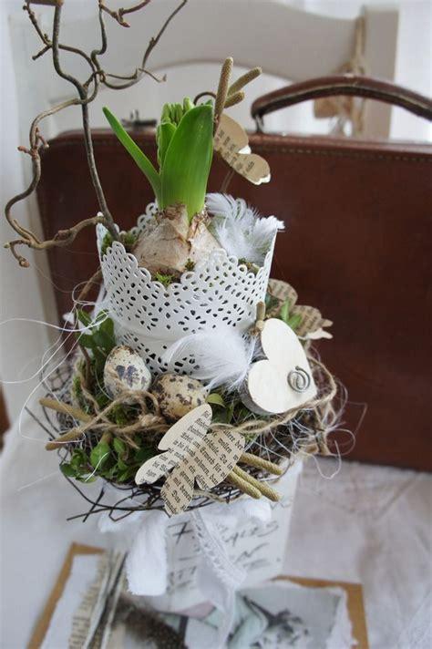 Dekorieren Frühling by Fr 252 Hling Osterdeko Quot Hyacinthus Quot Ein Designerst 252 Ck