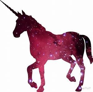 """Galaxy Unicorn"" Stickers by SuperFluff Redbubble"