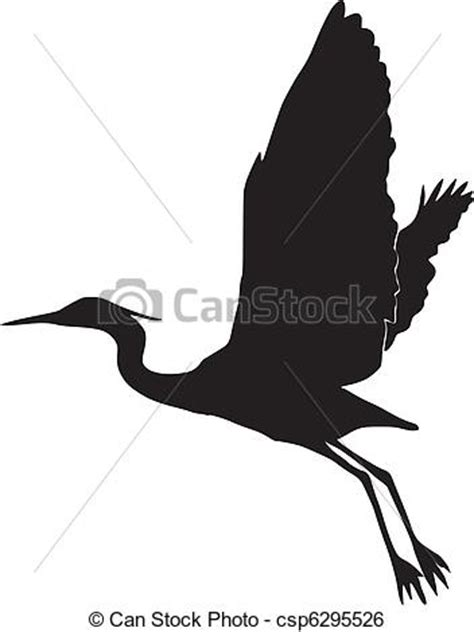 silhouette  egret