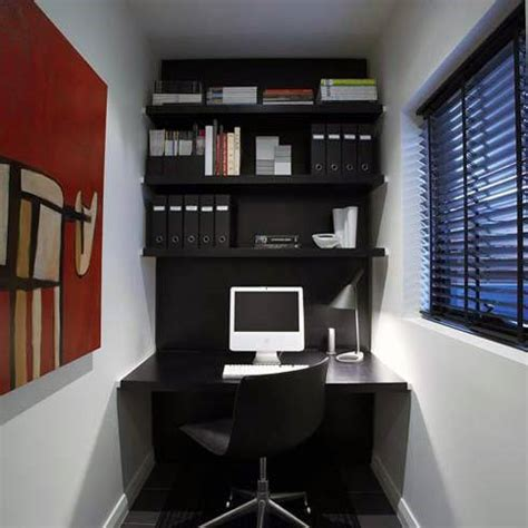 75 Small Home Office Ideas For Men Masculine Interior Home Decorators Catalog Best Ideas of Home Decor and Design [homedecoratorscatalog.us]