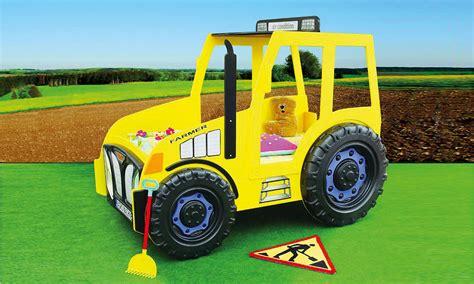 Kinderzimmer Traktor by Kinderbett Traktor Gelb Traktorbett Kinderzimmer Autobett