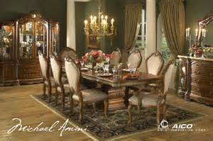 cortina luxury 9 piece traditional formal dining room set