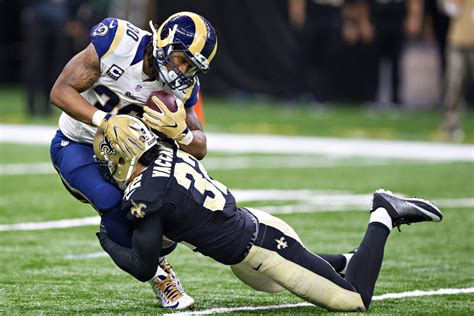 rams team grades saints offense overpowers rams defense
