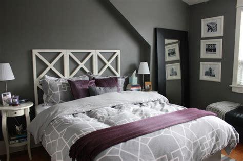 chambre gris et violet deco chambre violet et gris 20171015120326 tiawuk com