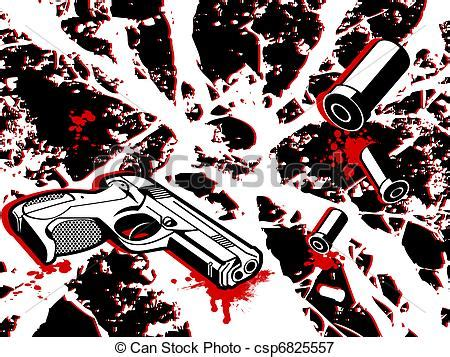 crime city crime scene background  gun  bullets
