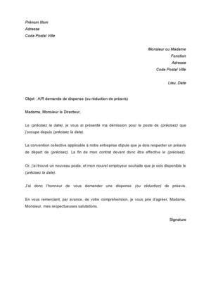 modele lettre préavis 1 mois zone tendue lettre pr 233 avis lettre bail r 233 siliation jaoloron