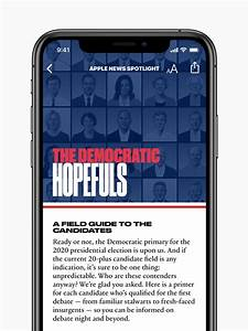 Apple Launches Candidate Guide Via News App To Preview