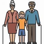 Citizen Senior Elderly Abuelos Gratis Area Icons