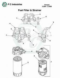 Fuel Filter  U0026 Strainer