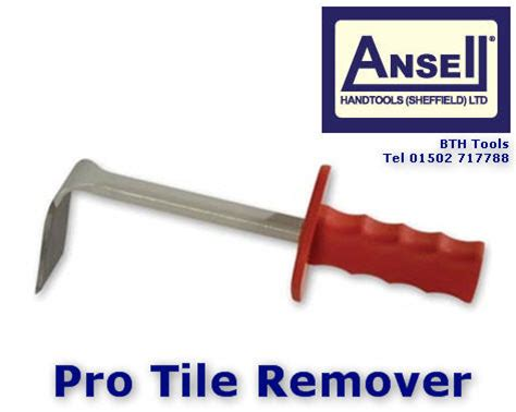Glass Tile Remover by Ansell Floor Wall 90 Degree Cranked Tile Wood Board