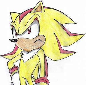 Super Shadow the Hedgehog by Puff-The-Hedgehog on deviantART
