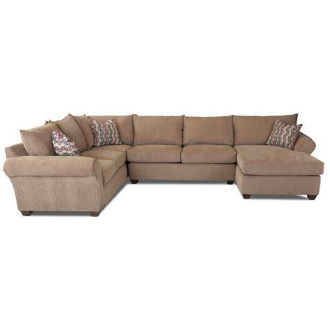 klaussner fletcher transitional sectional sofa johnny