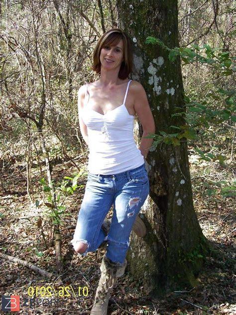 Fabulous Mummy Posing Outdoor Zb Porn