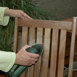Mobilier Jardin Bois : traitement du mobilier de jardin en bois ~ Premium-room.com Idées de Décoration