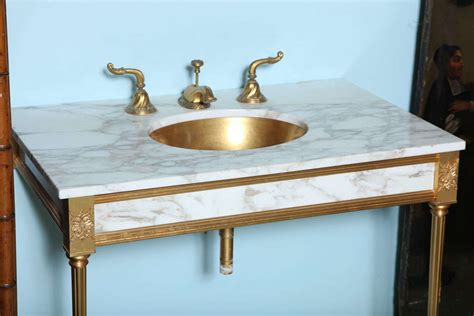 gold vanity table set sheryl wagner 22k gold vanity set at 1stdibs