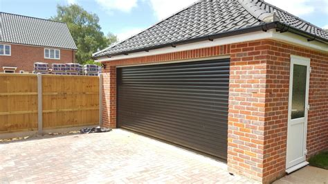 Double Garage : Rd77 Classic Double Roller Garage Door