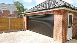 rd77 classic double roller garage door With cheap double garage doors