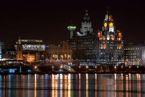 Mersey River Liverpool Waterfront