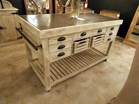 Marble Top Kitchen Island On Wheels by Rustic Kitchen Island With Top On Wheels Rustic