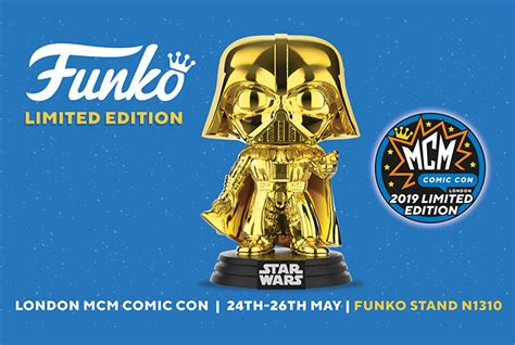Funko Reveals Gold Chrome Darth Vader POP! for MCM Comic ...
