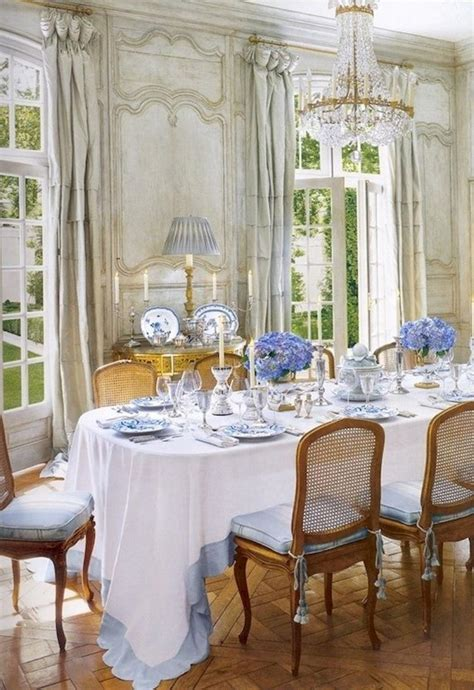 modern french country dining room table decor inspirations