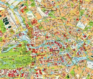 Centre De Berlin : berlin map ~ Medecine-chirurgie-esthetiques.com Avis de Voitures