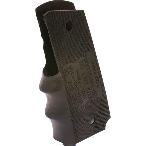 pearce grip government model  rubber finger groove