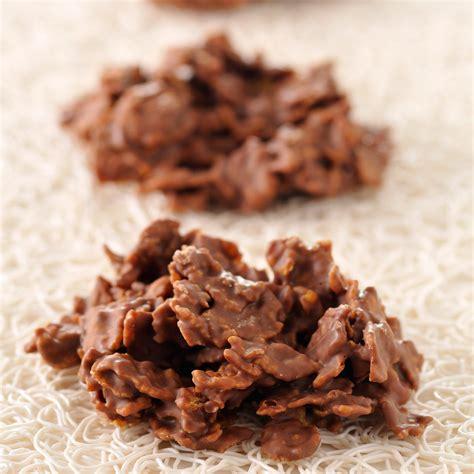 cuisine chocolat roses des sables au chocolat facile et pas cher recette