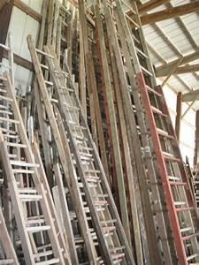 Vintage, Small, Wooden, Ladder