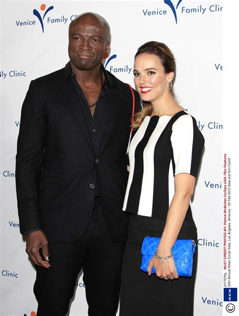 Seal Dating Red Widow Actress Erin Cahill