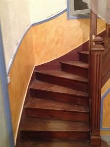 la renovation de l39escalier la maison de lilly With peindre un escalier bois 11 vitrificateur tendance escaliers syntilor