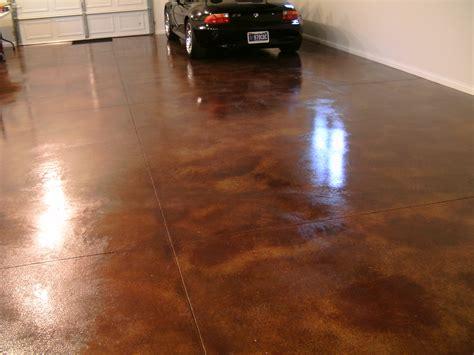 Concrete Floor Garage by Diy Acid Staining Garage Floors Direct Colors Inc