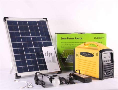 solar dc lighting kit solar outdoor power outlet mobile