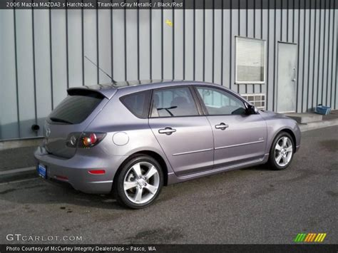 2006 Mazda Mazda3 S Hatchback In Titanium Gray Metallic