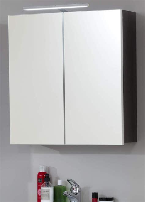 Badezimmer Spiegelschrank 40 X 60 by Spiegelschrank Line Sardegna Grau 60 Cm