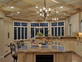 Large Kitchen Island Design Island Kitchen Design For A Large Scale Room Home Design Garden Architecture